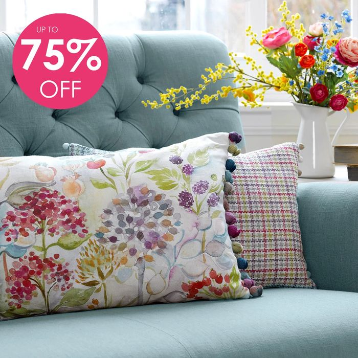 Up to 75% off Cushions