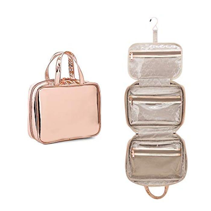 Cosmetic Bag Wash Bag Purple or Gold