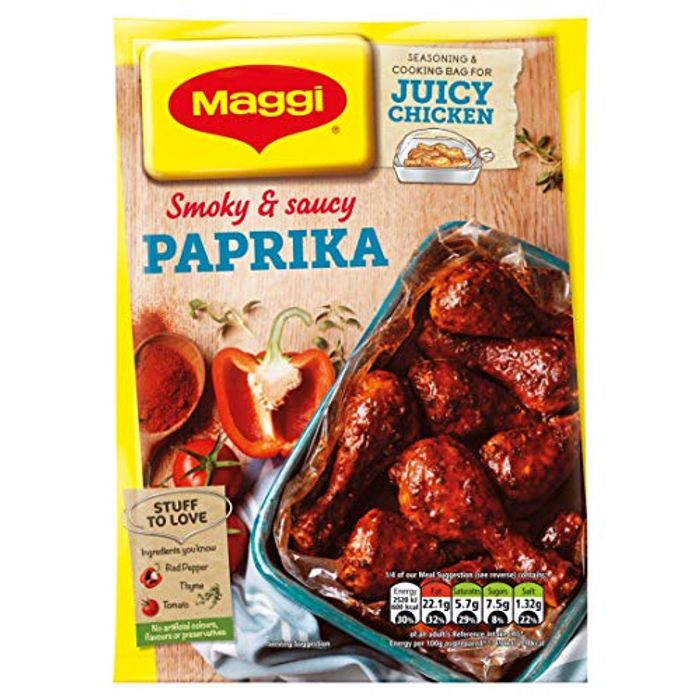 Maggi so Juicy Chicken Paprika Seasoning Mix, 30g