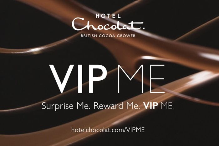 Sign up to VIPME at Hotel Chocolat for a £5 voucher on your birthday