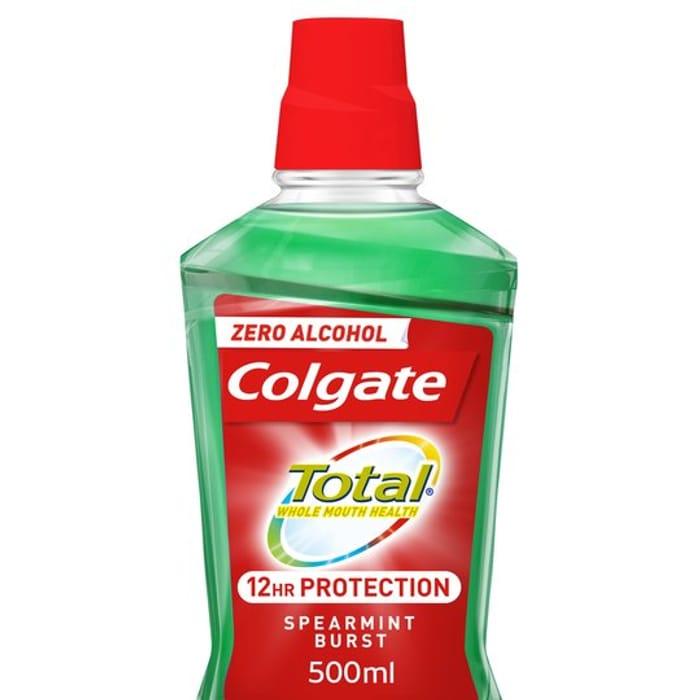 Colgate Total Advanced Mouthrinse Spearmint 500Ml