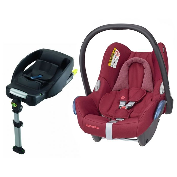 Maxi Cosi Cabriofix Group 0+ Car Seat with Easyfix Base-Essential Red (NEW 2020)