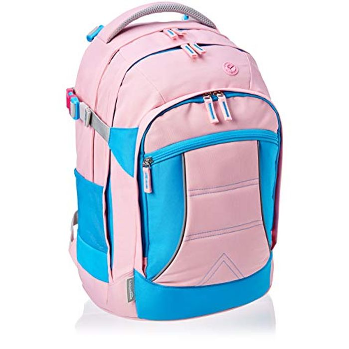 AmazonBasics Ergonomic Backpack (Pink, 30 Litres)