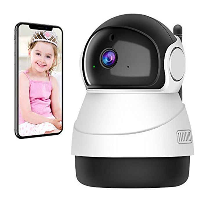 Wireless Wifi Indoor Camera with Security Surveillance and Night Vision