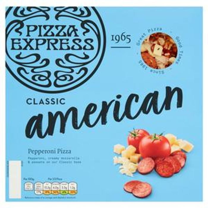 Pizza Express American Pepperoni Pizza 250g