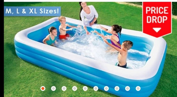 Bestway and Intex Family Swimming Pools - 6ft, 6.5ft, 8.8ft or 10ft!