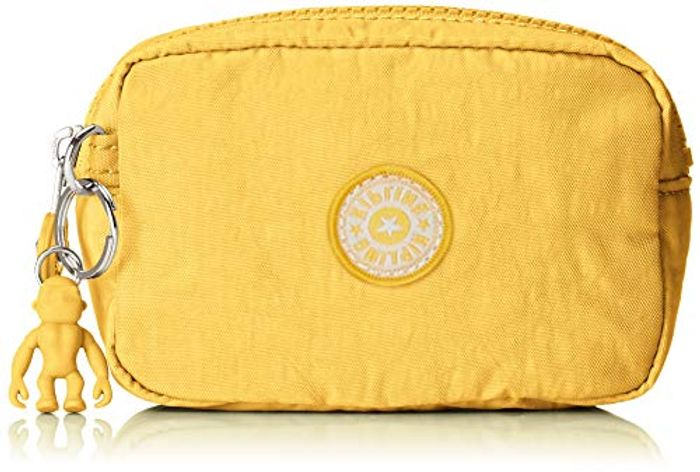 Small Kipling Zip Pouch Yellow