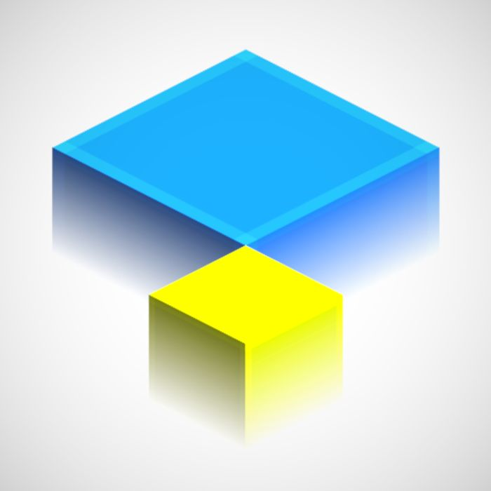 Isometric Squares - Puzzle - Usually £1.19