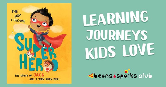 Free Personalised Book for Your Child from Beans and Sparks