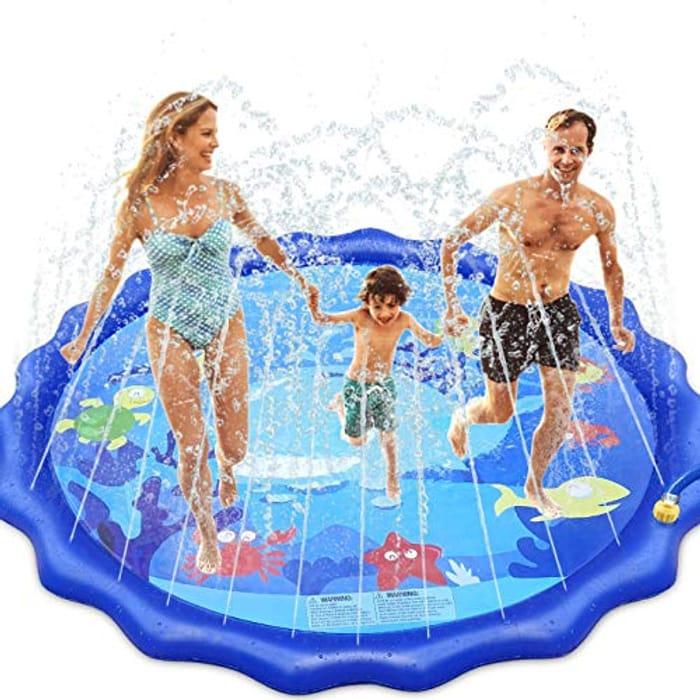 Cool Off! Garden Sprinkler Pad