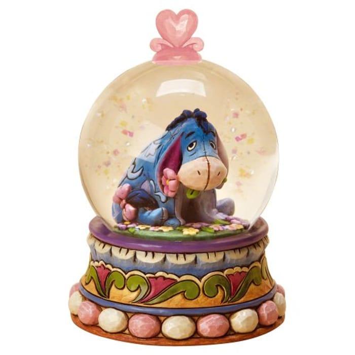 Disney Traditions Eeyore Waterball Gloom to Bloom Figurine