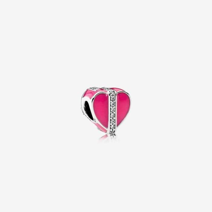 Pandora Magenta Gift of Love Charm