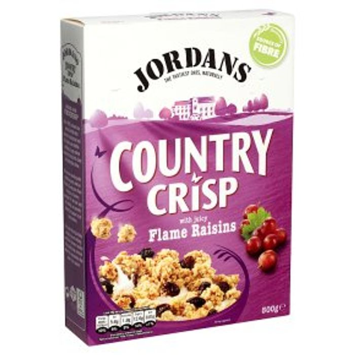 Jordans Country Crisp with Raisins 500g