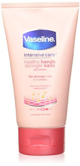 (Pre-Order) Vaseline Hand Cream for Very Dry Hands & Nails Cream 75 Ml