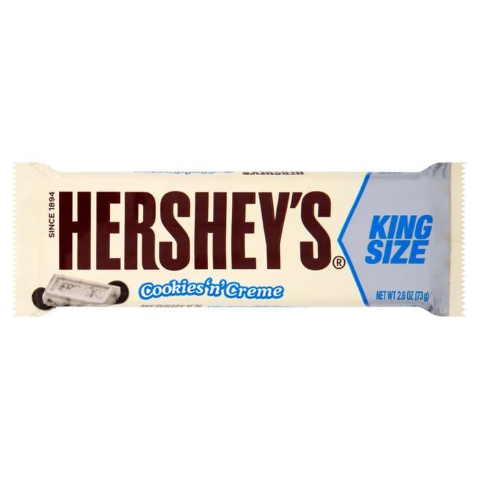 Hershey's Cookie 'N' Creme King Size Bars (18 X 73g Bars)