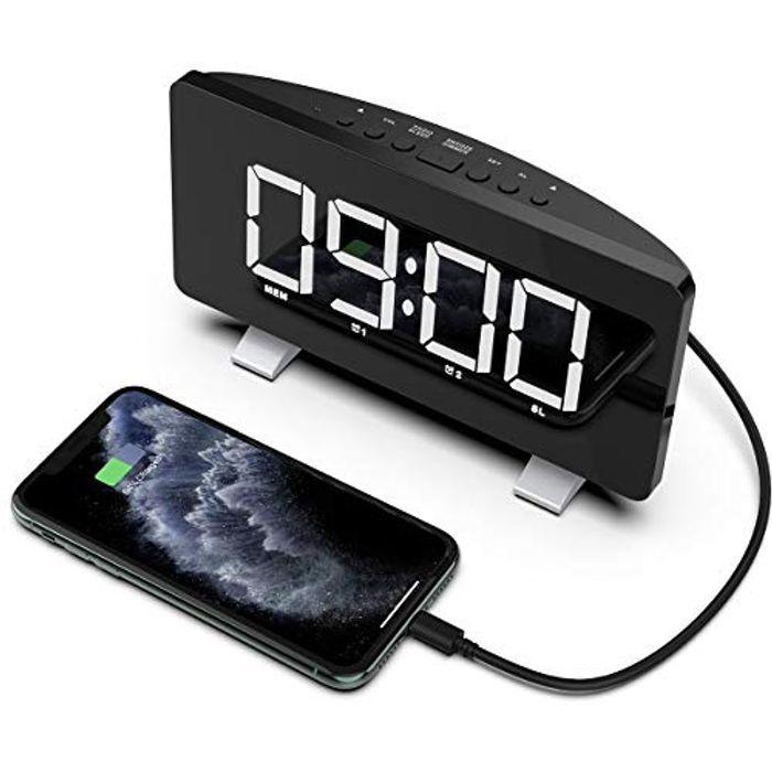 Deal Stack! Acokki Radio Alarm Clock, LED Digital