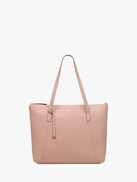 Save £120- Radley Wood Street Large Leather Tote Bag, Melon