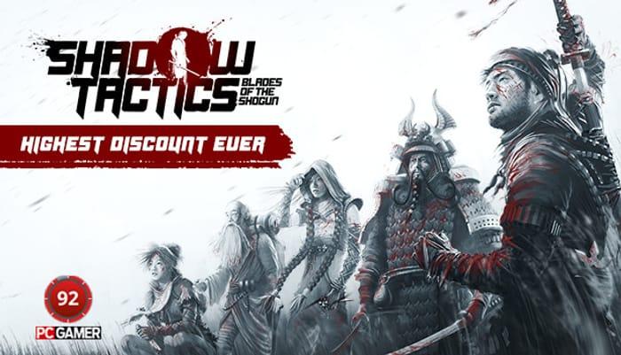 Shadow Tactics: Blades of the Shogun (PC Game)