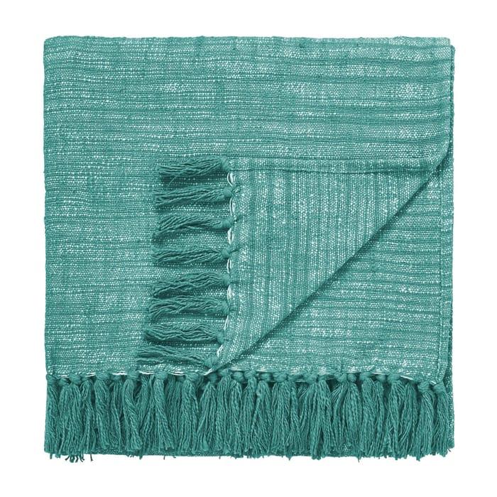 Scion - Blue Cotton 'Akira' Knitted Throw
