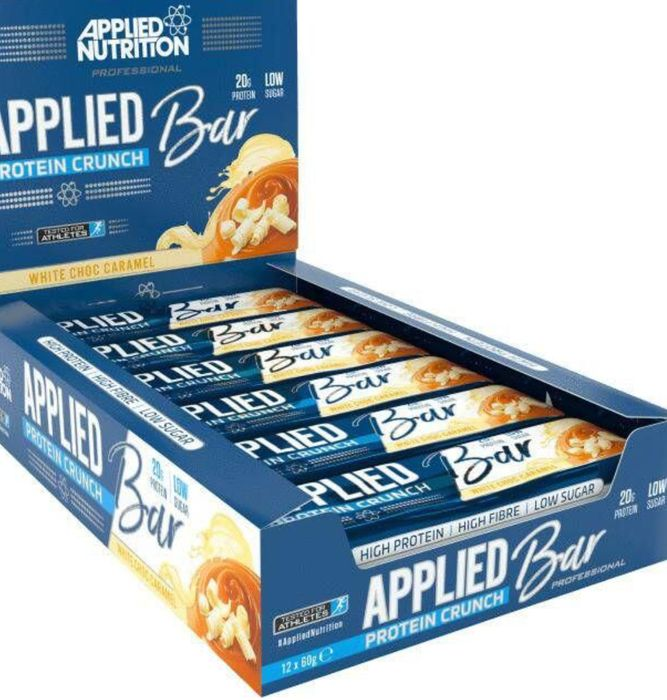 12 Applied Protein Crunch Bars