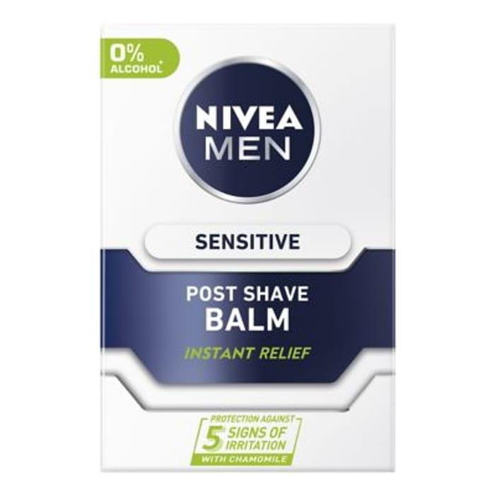 Nivea Men Sensitive Post Shave Balm/cooling/replenish 100ml