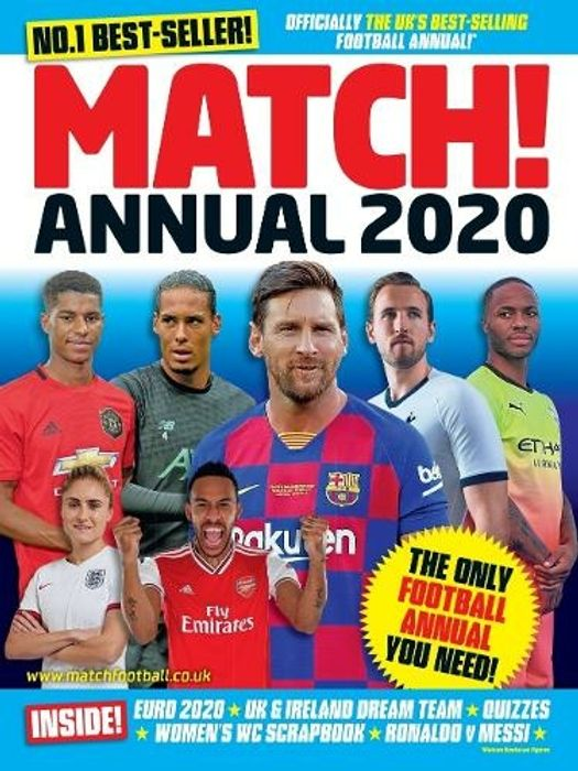 Match Annual ,Save 75% , WHSmith
