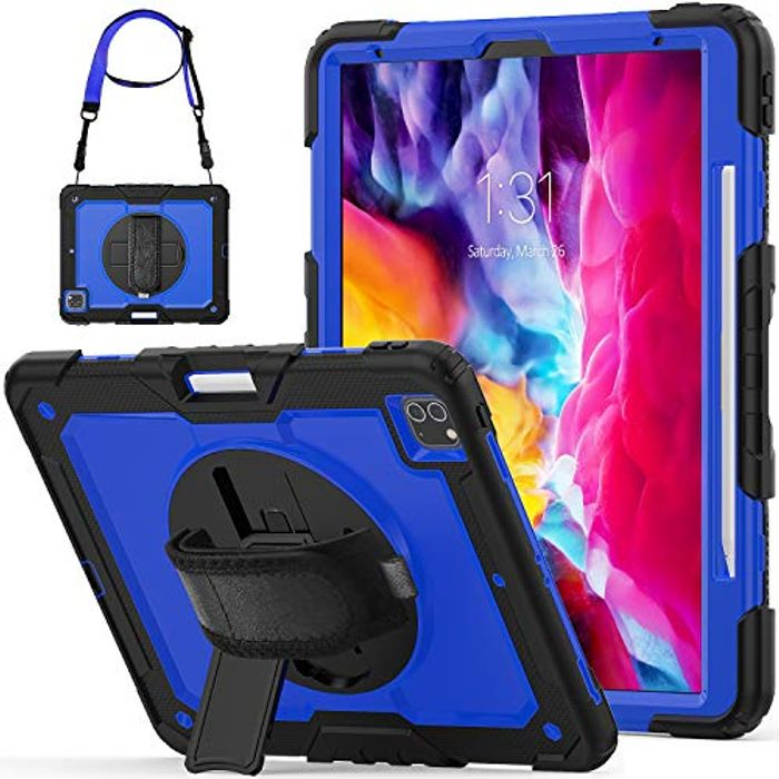 Special Offer - SEYMCY for iPad Pro 12.9 Case 2020 (4th Generation 12.9
