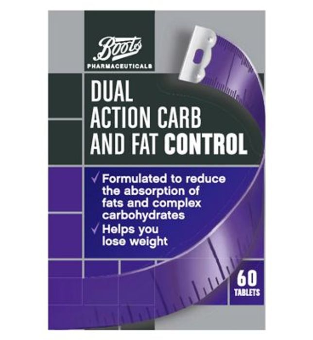 Boots Dual Action Carb and Fat Control Tablets - 60 Tablets