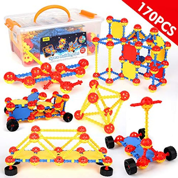 Half Price - Space Building Blocks Toys - 170 Pcs at Amazon