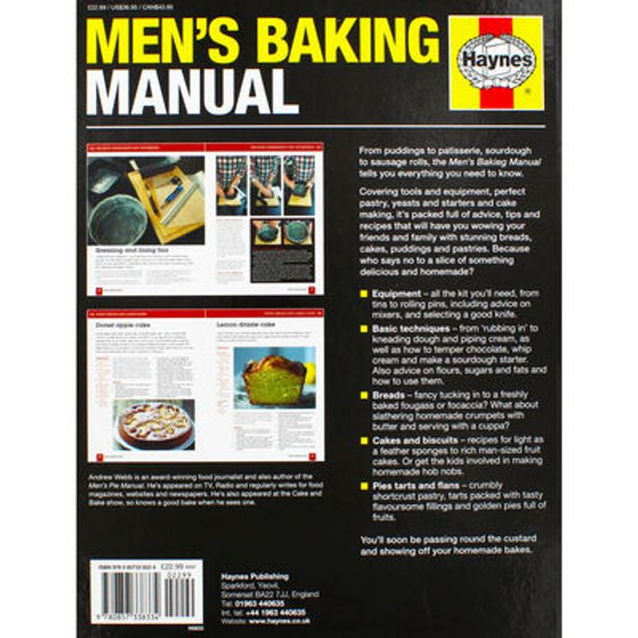 Image 1/3 Haynes Mens Baking Manual