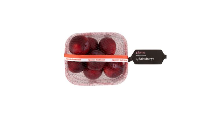 Plum Punnet at Sainsburys