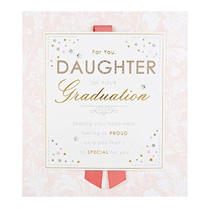 Graduation Congratulations Card for Daughter from Hallmark