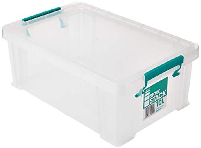 STORESTACK RB90123 Box, 10 L, Length 400 Mm X Width 255 Mm X Height 150 Mm