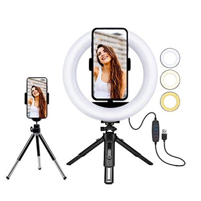 50%OFF Petdal 8 Inch LED Ring Light with Phone Holder,
