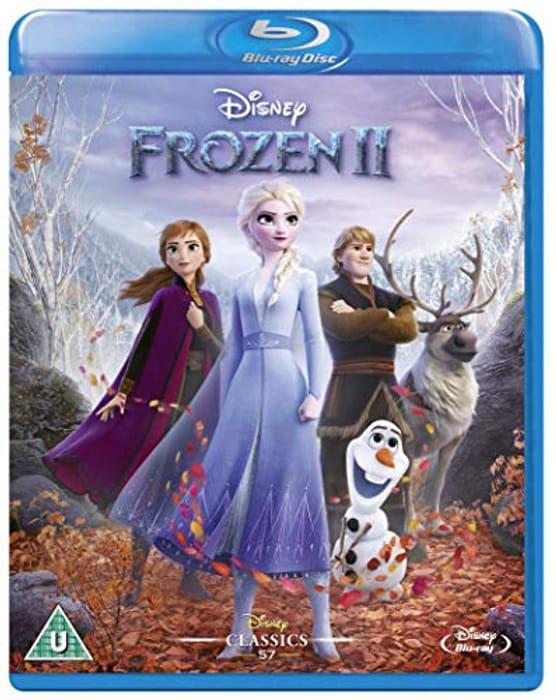 Best Ever Amazon Price! Frozen 2 Blu-Ray
