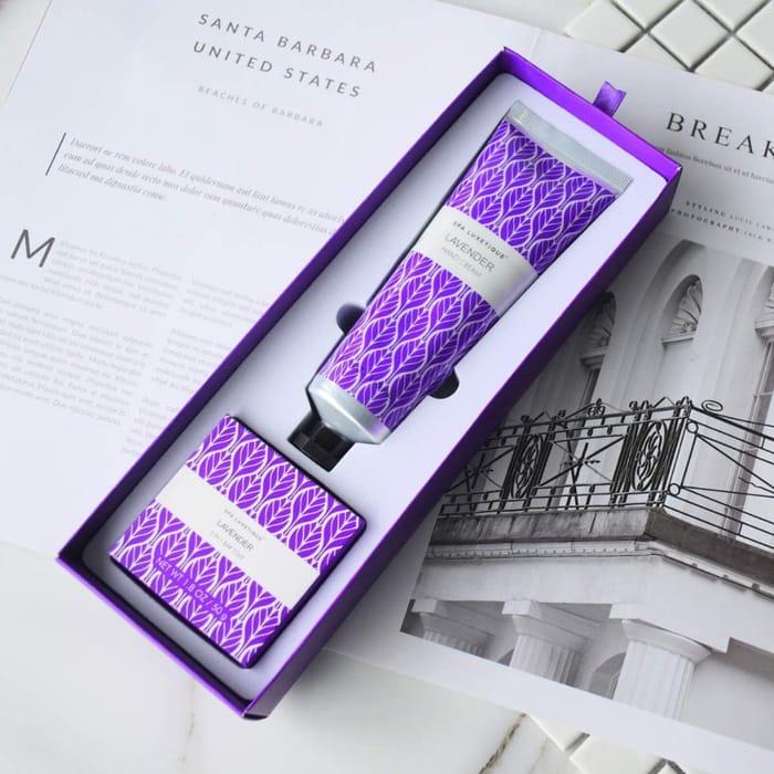 Lavender Soap & Hand Cream Gift Set - £1.50 Prime