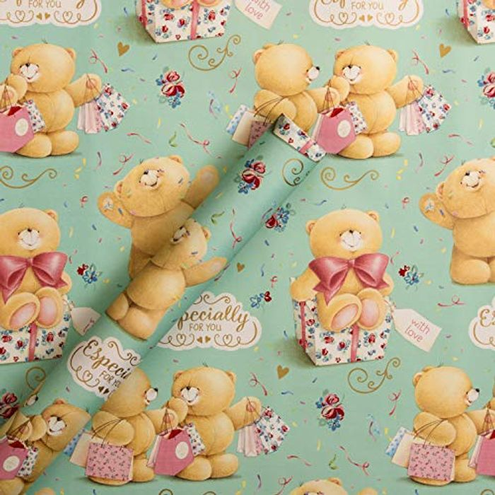 Hallmark Wrapping Paper 2m Roll 'Especially for You' (FREE PRIME DELIVERY)