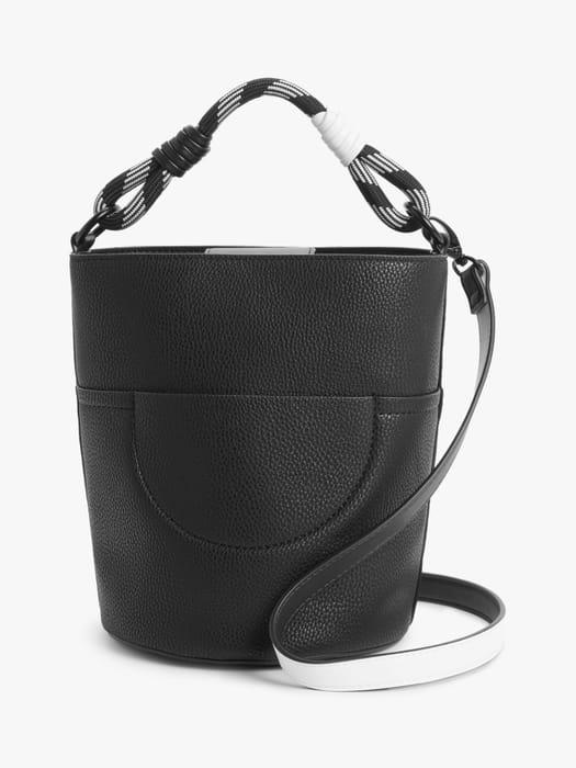 70% Discount- Kin Bucket Bag, Black