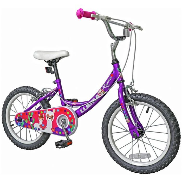 Llama or Racer 16 Inch Wheel Kids Bike Now 22%off@ Argos