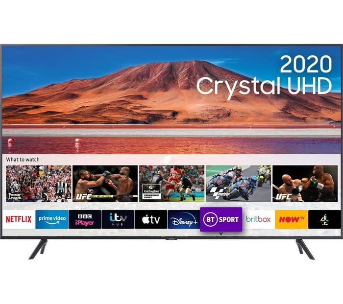 "*SAVE £100* SAMSUNG 58"" Smart 4K Ultra HD HDR LED TV"