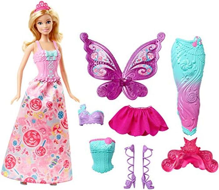 SAVE £6 - Barbie Fairytale Dress Up Doll *4.6 STARS*