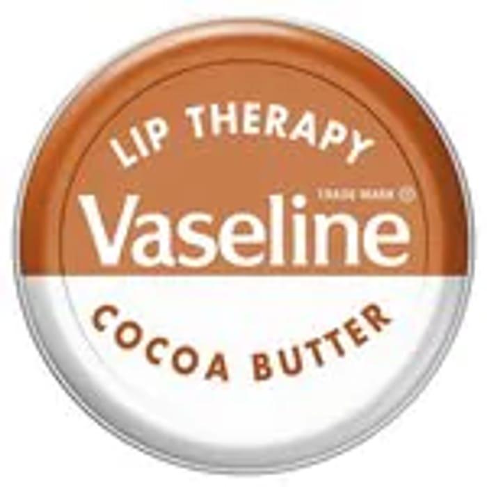 Vaseline Lip Therapy Cocoa/Original/Aloe/Rosy Lip Tin20g
