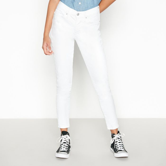 Levi's - White '311 Shaping' Ankle Grazer Skinny Jeans