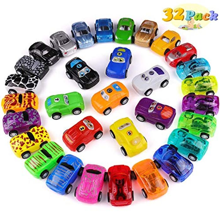 50% off 32 Pack Pull Back Racing Cars for Kids