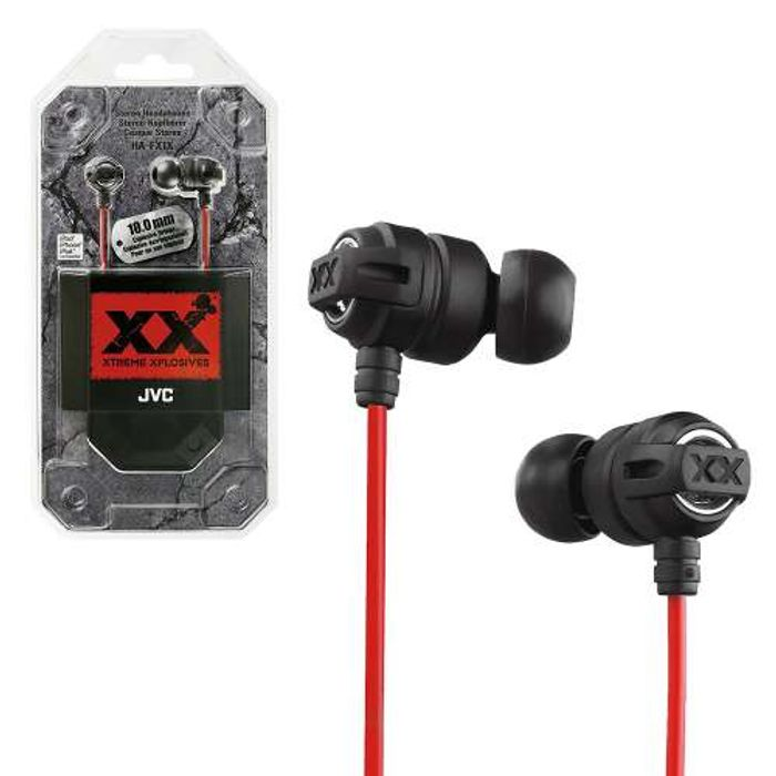 JVC HAFX1X Xtreme Xplosives in Ear Canal Earphones