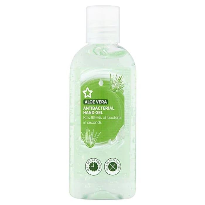Superdrug Aloe Vera Antibacterial Hand Sanitiser Gel 100ml
