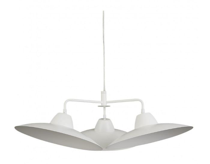 Ballan White Metal Chandelier Ceiling Light