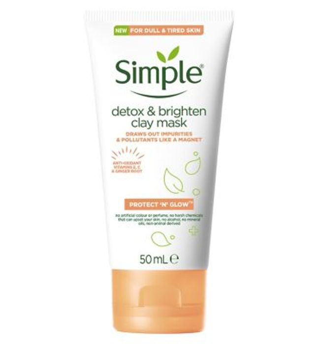Simple Protect & Glow Clay Mask 50ml