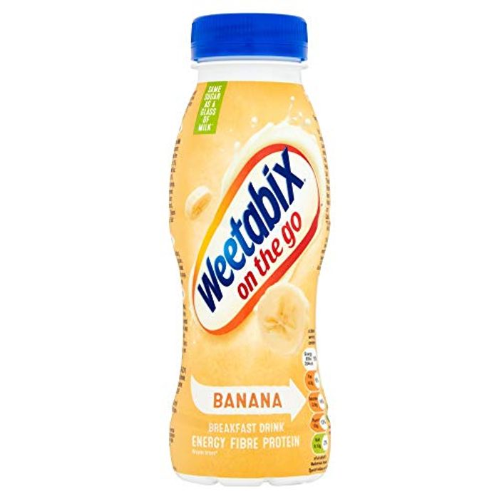 Weetabix on the Go Banana Breakfast Drink 250 Ml (Pack of 8)