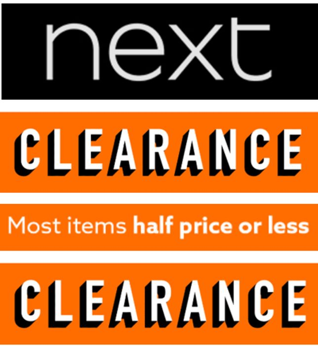 NEXT - NEXT CLEARANCE - Half Price or Less